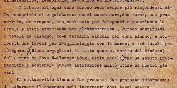 1960-Viviani relazione Scuola Disegno