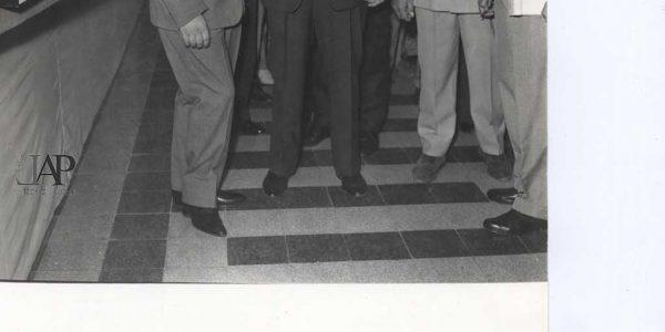 1960 – primo a sinistra Lorenzo Piemonti – Archivio foto LAP
