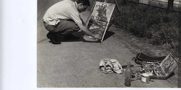 1967 – 9° Premio Bice Bugatti 005 – pittore in via Villoresi – Archivio foto LAP – Copy (2)