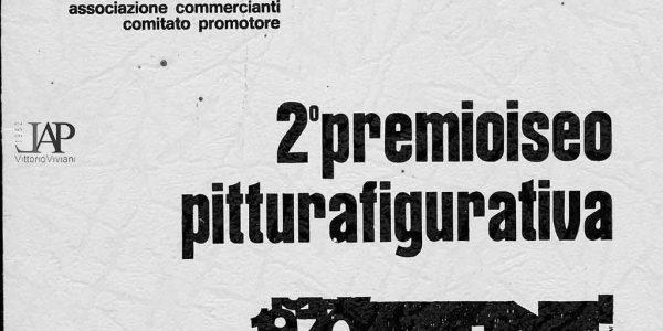 1970- catalogo 2° Premio Iseo pittura figurativa – Viviani segretario