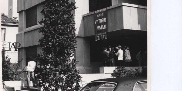 1972 – mostra antologica Viviani – Gruppo Amici dell'arte – Centro parrocchiale Nova – Archivio foto LAP – 001