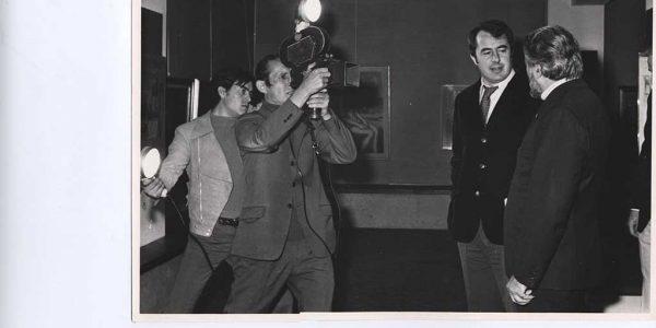 1972 – mostra antologica Viviani – Gruppo Amici dell'arte – Centro parrocchiale Nova – Archivio foto LAP – 004