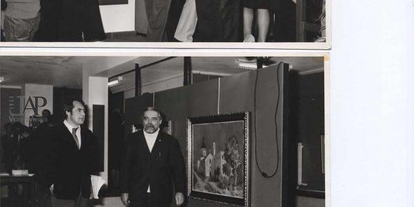 1972 – mostra antologica Viviani – Gruppo Amici dell'arte – Centro parrocchiale Nova – Archivio foto LAP – 006