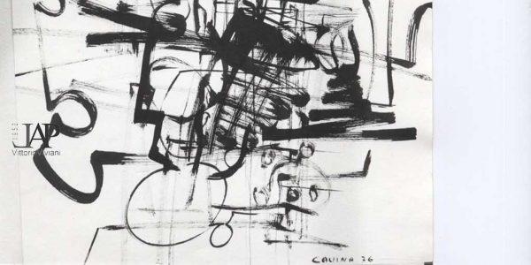 1976 – Luigi Cavina – disegno – Archivio Laura Barzaghi