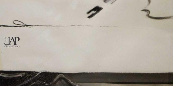1978 – 9° premio Giovanni Segantini ex aequo – Giancarlo Curone – tecnica mista su carta – 108×78 – Copia