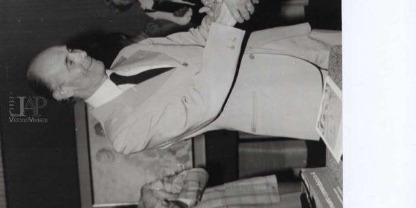 1980 – mostra Viviani Pittore della luce Monza. direttore galleria pittore Bima, assessore cultura Monza Bertazzini, Viviani – Archivio Laura Barzaghi