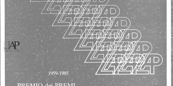 1987- catalogo PREMIO DEI PREMI BICE BUGATTI Alessandro Durini