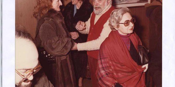 1990 – Eliana Lissoni e Vittorio Viviani – Archivio foto LAP