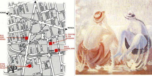1990- invito mostra antologica 1928-1990 Vittorio Viviani – NOVA MILANESE