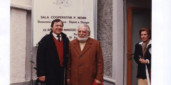 1990 – mostra antologica Viviani 1928-1990 – cooperativa Nenni – Daleffe e Viviani – Archivio foto LAP