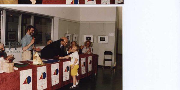 1992 – consegna dei premi del concorso – Archivio Laura Barzaghi