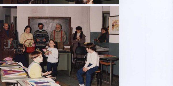 1992 – festa di Natale LAP e premiazione picoli allievi – Archivio Laura Barzaghi