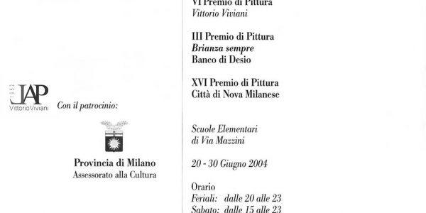 2004- catalogo 22° Premio SEGANTINI