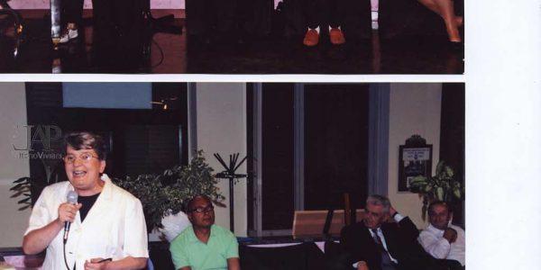 2010 – mostra allievi LAP al Centro a Desio – Archivio foto LAP – al microfono sindaci di Desio Mariani e di Nova Barzaghi