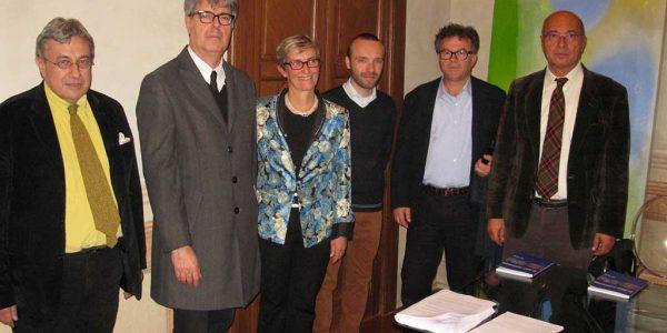 2013 – 54esimo premio bugatti segantini – secondo da sinistra Italio Bressan premio alla carriera