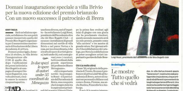 2013 ottobre 8 – sede LAP in ex scuole via Roma – giornale di desio