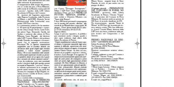 informatore comunale 2004 giugno Premio Segantini