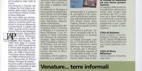 informatore comunale 2011 marzo – mostra Oggioni