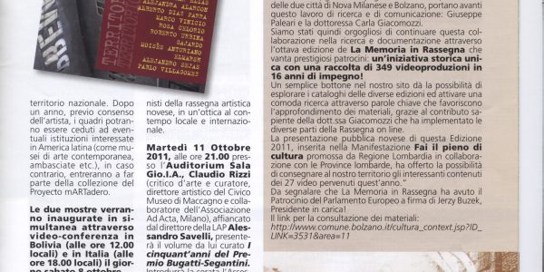 informatore comunale 2011 ottobre premio bice bugatti giovanni segantini (2)